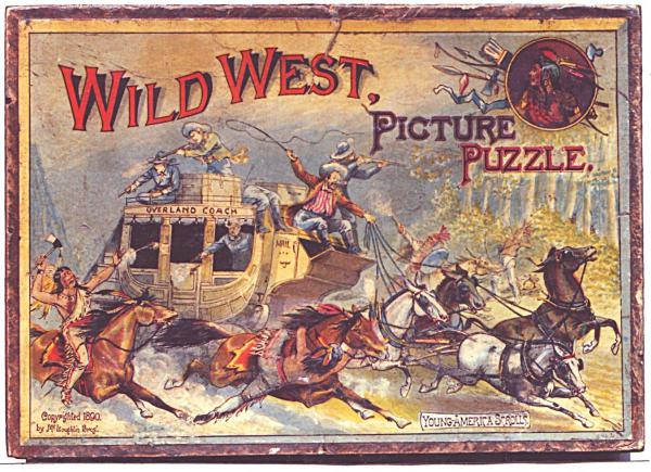 Jigsaw Puzzle Maker >> Wild West | Bob Armstrong's Old Jigsaw Puzzles