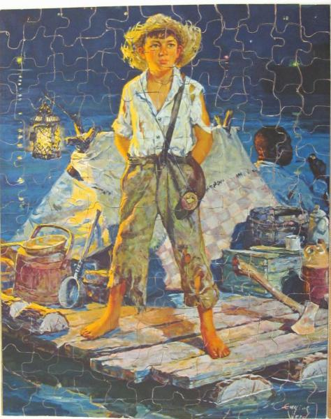 Huckleberry Finn Special Bob Armstrong S Old Jigsaw